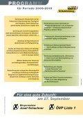 Gemeinderats- und Bürgermeisterwahl 27. September 2009 - ÖVP ... - Page 6
