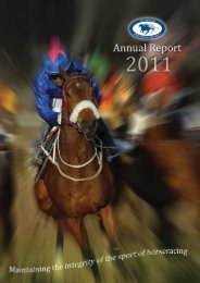 NHA_2011_Annual_Repo.. - The National Horse Racing Authority