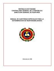 Manual de Auditorias Especiales - Caja del Seguro Social