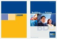 2006 BDO Annual Report Description : Building for the Future