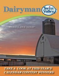 Chores are Done - Swiss Valley Farms