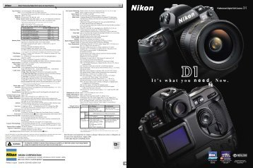 D1 - Nikon Service-Manuals