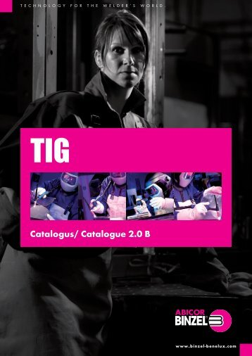 Catalogus/ Catalogue 2.0 B - r.t. welding