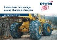 Instructions de montage pewag chaînes de traction