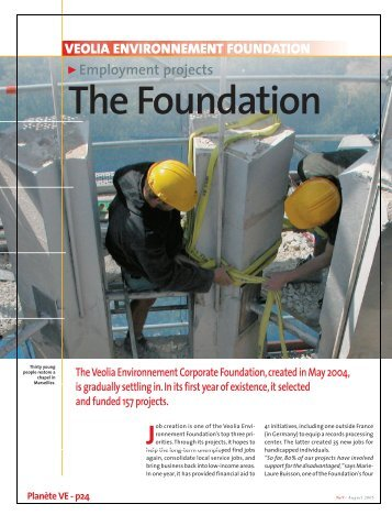 Download the article published in Planète - Summer 2005 (pdf ...