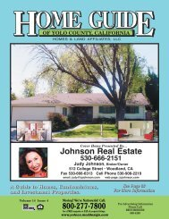 Johnson Real Estate - Home Guide of Yolo County, CA