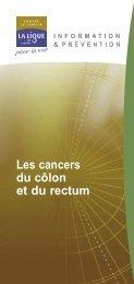 Les cancers du côlon et du rectum - Pataclope83.com