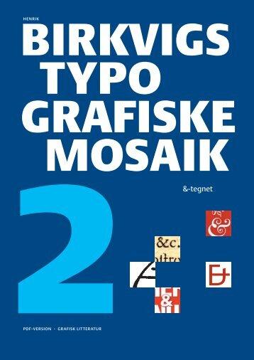 2 &-tegnet - Grafisk Litteratur