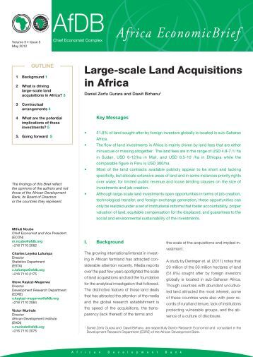 land acquisition in zambia Nigeria, rwanda, senegal, south africa, tanzania, uganda and zambia  regulatory framework for land acquisition in sub-saharan africa: a comparative study 8.