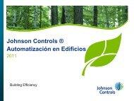 Johnson Controls ® Automatización en Edificios - Fonam