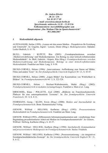 Dr. Andrea Rössler JK 24 - Prof. Dr. Andreas Grünewald