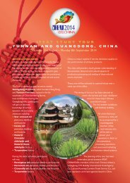 study tour brochure - IFEAT