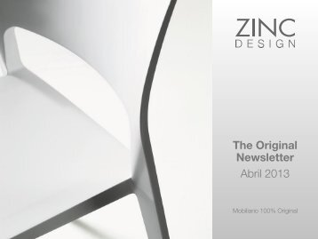 The Original Newsletter Abril 2013 - Zinc