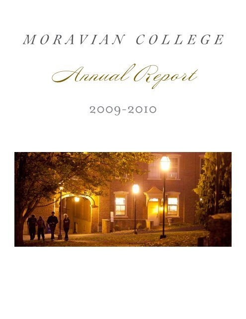 ANNUAL REPORT (PDF Version) - Moravian College
