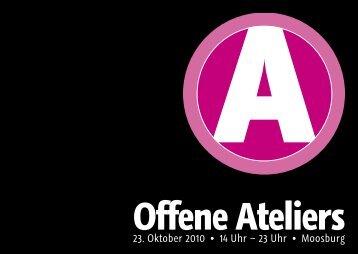 Offene Ateliers - Altstadtförderer Moosburg eV
