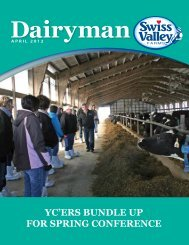 April 2012 - Swiss Valley Farms