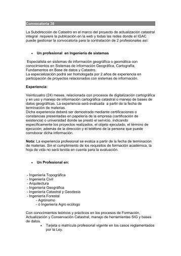 Itsa se permite realizar convocatoria para docentes cat for Convocatoria para plazas docentes
