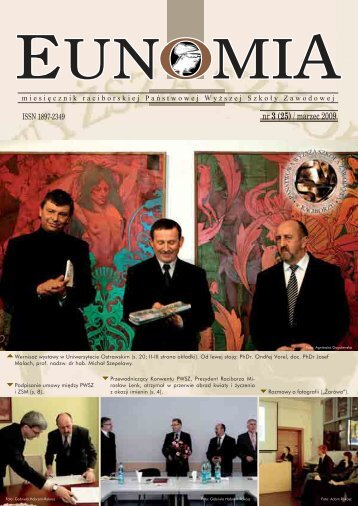 Eunomia 2009/03 - Państwowa Wyższa Szkoła Zawodowa w ...