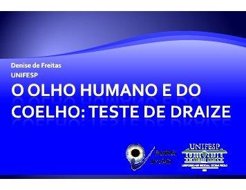 Denise de Freitas UNIFESP