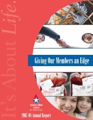 Annual Report 2008 - America's Blood Centers