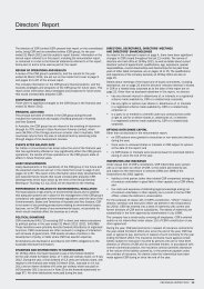 Directors' Report - CSR