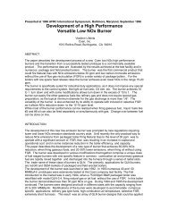 Coen Development of a High Performance Versatile Low ... - Inproheat