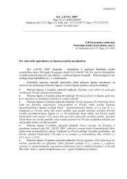 """SIA """"LEVEL 2000"""" - Patērētāju tiesību aizsardzības centrs"""
