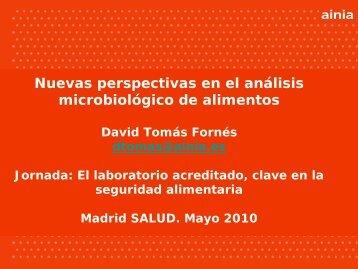 criterios microbiológicos - Ainia
