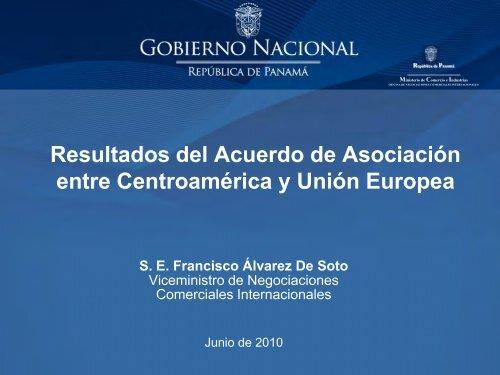 Resultados del Acuerdo de Asociación entre Centroamérica y Unión ...