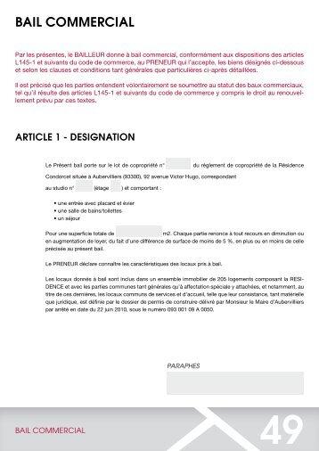 bail CommerCial - CN2i