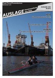 Auslage 01 2013 - RuderVerein Humboldtschule Hannover eV