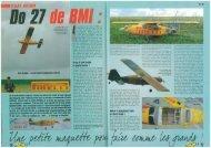 RCM - Do-27 - BMI-models