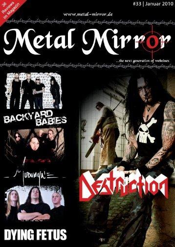 metal mirror #26 - endstille, disbelief, nazareth, ufo, brutal truth, god ...