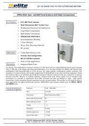 2x21dBi Panel Antenna with Radio Compartment.pdf - LinkShop
