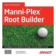Manni-Plex Root Builder - Brandt