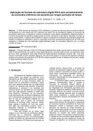 Aplicação do formato de assinatura digital ES-A para ... - SBIS