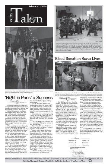 'Night in Paris' a Success - The Reporter