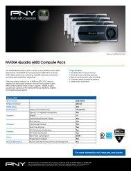 Quadro 6000 multi-GPU - PNY