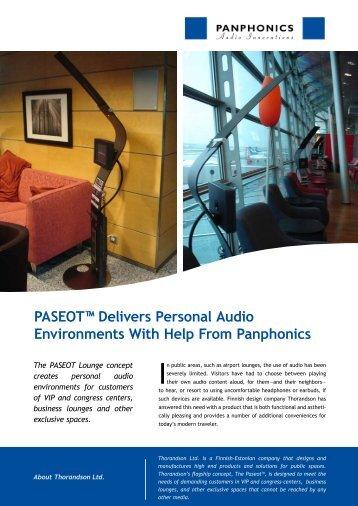 Download Case story (PDF) - Panphonics
