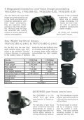 "Newsletter ""Lenses"" December 2008 - Security Systems - Pentax - Page 3"