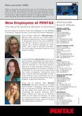 "Newsletter ""Lenses"" December 2008 - Security Systems - Pentax - Page 4"