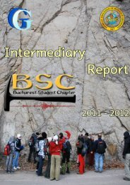 Intermediary Report Bucharest SC 2011-2012 - the geo server of ...