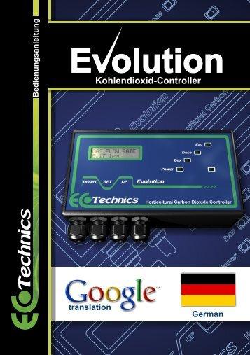 Kohlendioxid-Controller - Ecotechnics