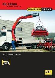 Brochure PK 18500 - Palfinger