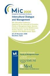Intercultural Dialogue and Management