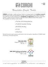 Newsletter Corghi Textile - Acimit
