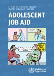 ADOLESCENT JOB AID - Bad Request