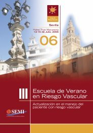 Escuela de Verano en Riesgo Vascular - Sociedad Española de ...