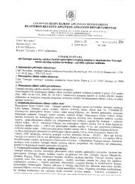 lv4-5890 Tauragės nuotekų valyklos dumblo apdorojimo įrenginiai