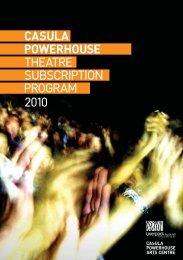 SUBSCRIPTION - Casula Powerhouse
